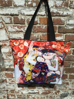 Tote Bag Large The Virgin The Dancer by Klimt