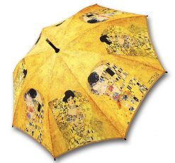 Umbrella The Kiss by Klimt