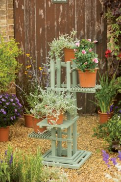 English Garden Range Plant Stand Natural Green