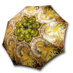 Umbrella Zodiaque by Mucha