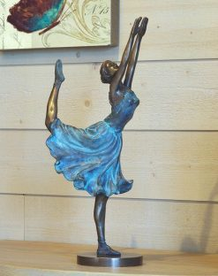 Bronze Sculpture Ballerina Dancing 43cm