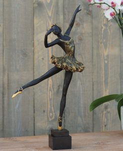 Fine Cast Bronze Sculpture Ballerina 50cm