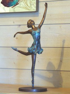 Bronze Sculpture Ballerina 40cm