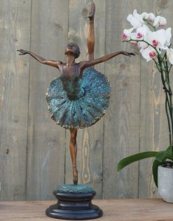 Fine Cast Bronze Sculpture Ballerina 59cm