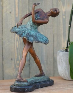 Fine Cast Bronze Sculpture Ballerina 31cm