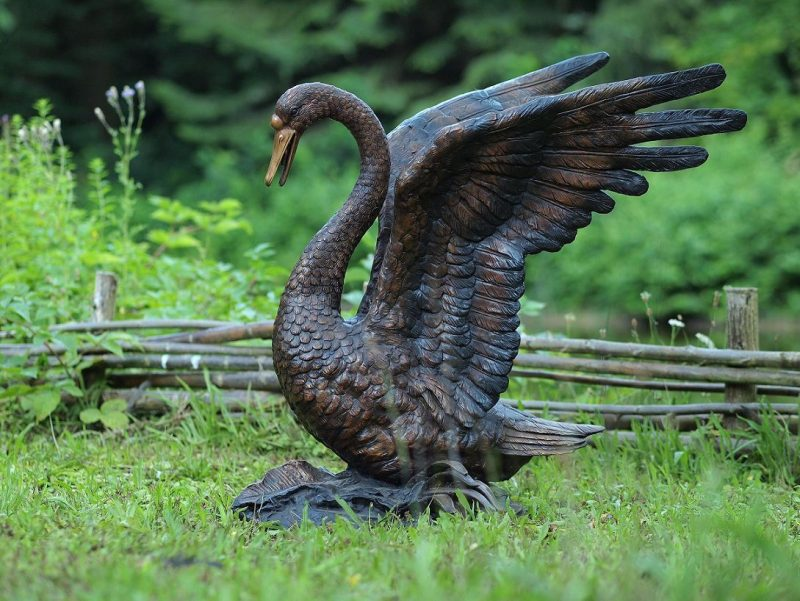 Swan Top 10 Extra Large Bronze Bird Sculptures