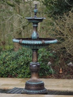 FO 44 Fine Bronze Sculpture Fountain Two Scales | Avant Garden
