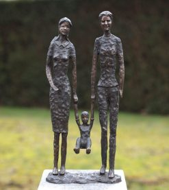 Bronze Sculpture Family Statue