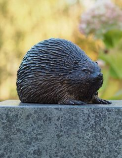 MI 19 Solid Bronze Hedgehog Sculpture 1 | Avant Garden
