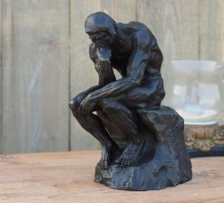 Bronze Sculpture Thinker (Rodin) 28cm
