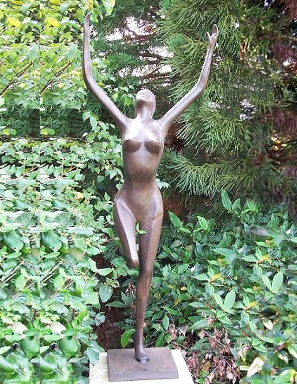 FIWO 9 Naked Lady Solid Bronze Sculpture Grace | Avant Garden