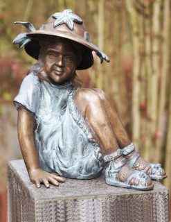 FIGI 22 Bronze Girl Sunshine Hat 1 | Avant Garden