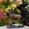 Stag on Base 28cm