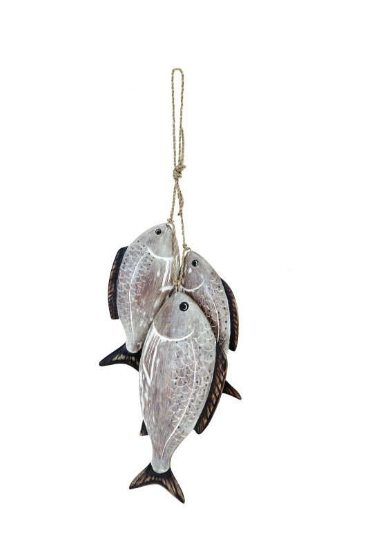 Archipelago Sea Bream Bunch wooden sculpture