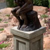 FIME 26 Solid Bronze The Thinker by Rodin Sculpture 3 | Avant Garden