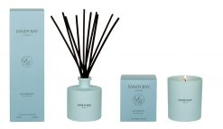 Sandy Bay London Retreat Decadence Candle Reed Diffuser Gift Set