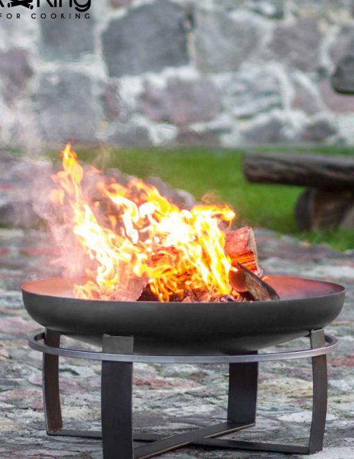 111261 CookKing Fire Bowl Viking 2 Log Burner | Avant Garden
