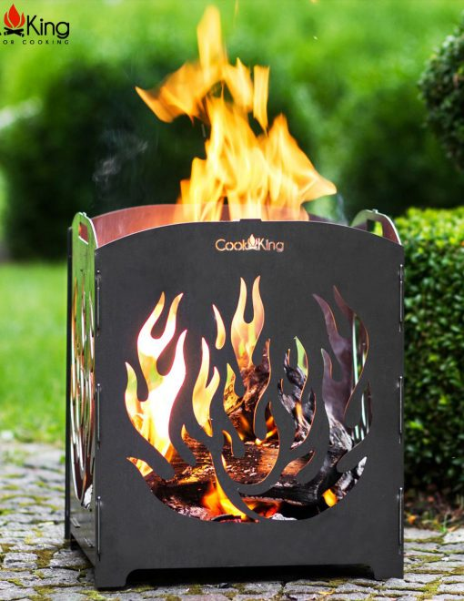 111460 CookKing Fire Basket Lago 1 Log Burner | Avant Garden