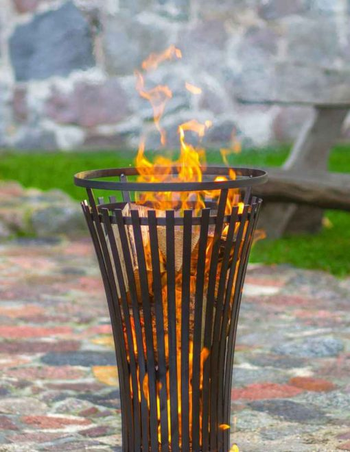 11450 CookKing Fire Basket Flame 6 Log Burner | Avant Garden