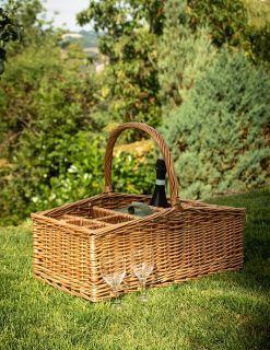 DB038 Chiltern Party Basket & 6 Glasses 1 | Avant Garden