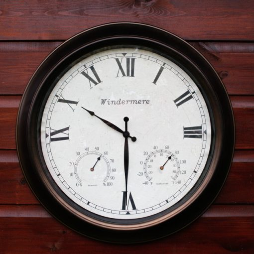 CL001 2 Outdoor Garden Clock Lake Windermere 46cm | Avant Garden