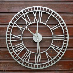 CL003 2 Skeleton Outdoor Garden Clock Weather Resistant 61cm | Avant Garden