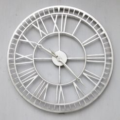 CL003 3 Skeleton Outdoor Garden Clock Weather Resistant 61cm | Avant Garden Guernsey