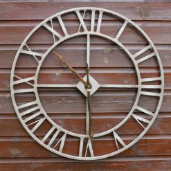 CL004 2 Outdoor Garden Skeleton Clock 76cm | Avant Garden Guernsey