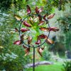 SP550 Autumnal Breeze Metallic Foil Finish Garden Wind Sculpture 1 | Avant Garden