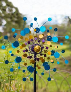 SP560 Eclipse Wind Sculpture Garden Spinner 1 | Avant Garden