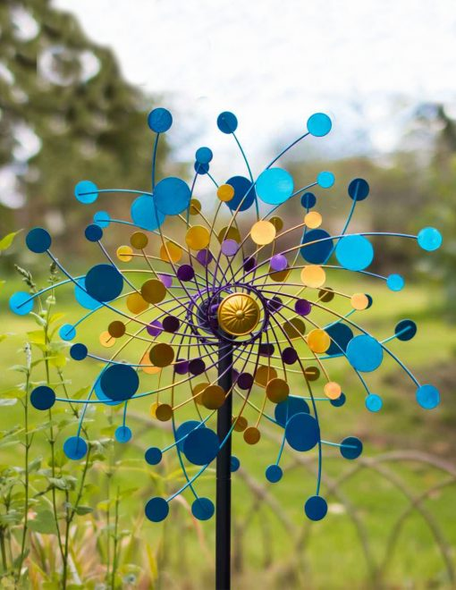 SP560 Eclipse Garden Spinner Wind Sculpture 1 | Avant Garden