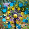 SP560 Colour Collage Garden Wind Sculpture | Avant Garden Guernsey