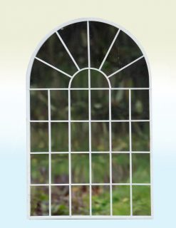 MIR001 Outdoor Garden Mirror Islington Avenue Weather Resistant 49x77cm | Avant Garden