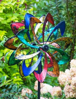 SP545 Sunny Rainbow Spectrum Garden Wind Sculpture 1 | Avant Garden
