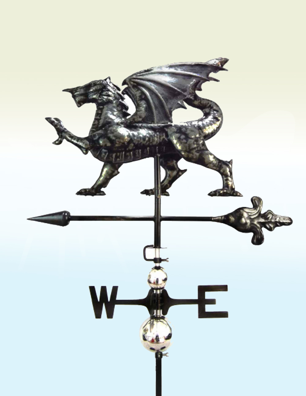 PY0815 Weathervane Dragon 3D Stainless Steel | Avant Garden