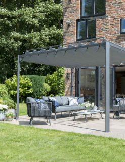 84910 Lexington Folding Leaf Pergola Gazebo | Avant Garden Guernsey