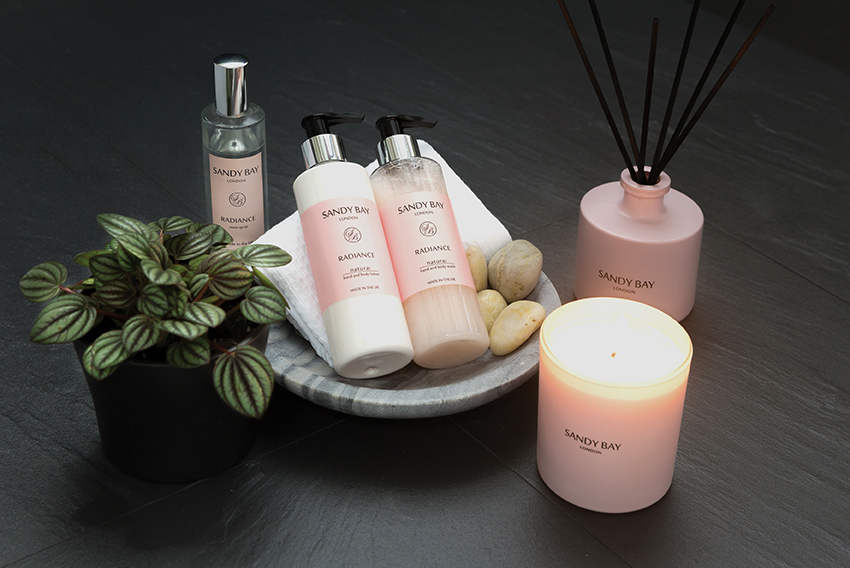 Sandy Bay London Radiance Spa Pack | Avant Garden Guernsey