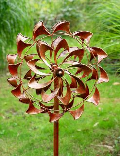 SP590 Catherine Wheel Swirl Garden Wind Sculpture 1 | Avant Garden
