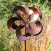 SP435 Bladesbury Brurnished Bronze Garden Wind Sculpture 1 | Avant Garden