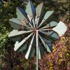 SP470 Dahlia Bloom Verdigris Garden Wind Sculpture | Avant Garden Guernsey