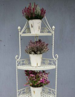 CR11 MoselleMatt Cream Four Tier Corner Unit | Avant Garden Guernsey