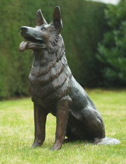 DO15 Bronze Sculpture Dog Mans Best Friend 75 x 55cm | Avant Garden