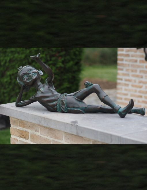 Elf On A Shelf Solid Bronze Sculpture 33x42x83cm 1 | Avant Garden