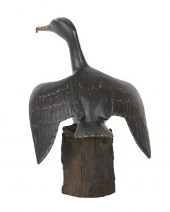 D393 Cormorant Wingspread Bird Archipelago Wooden Sculpture Hand Crafted Fair Traded 1 | Avant Garden