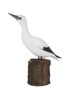 D397 Gannet Up Archipelago Bird Wooden Sculpture 1 | Avant Garden