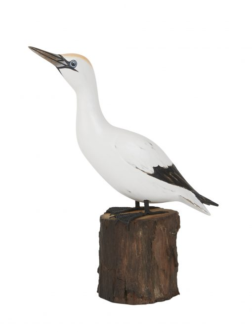 D397 Gannet Up Archipelago Bird Hand Carved Sculpture 1 | Avant Garden