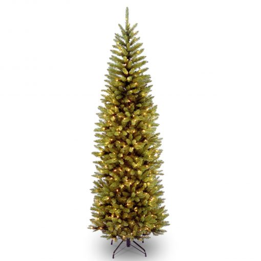 KW7-344LB-65S Munich Pre Lit Hinged Artificial Christmas Tree | Avant Garden