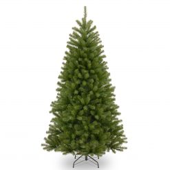 NRV7-500 Bayern Unlit Green Spruce Pine Artificial Christmas Tree Hinged 1 | Avant Garden