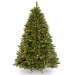 WCH7-375LB-65S Bavarian Pre Lit Artificial Christmas Tree LED Warm White Lites Hinged 1 | Avant Garden