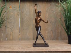 FIBA 30 Solid Bronze Ballet Dancer 41cm Sculpture 1 | Avant Garden